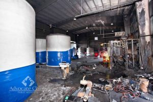 Industrial Fire Insurance Claim Port St Lucie
