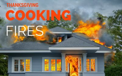 Don't Get Roasted This Thanksgiving! Tips to Prevent Fires.