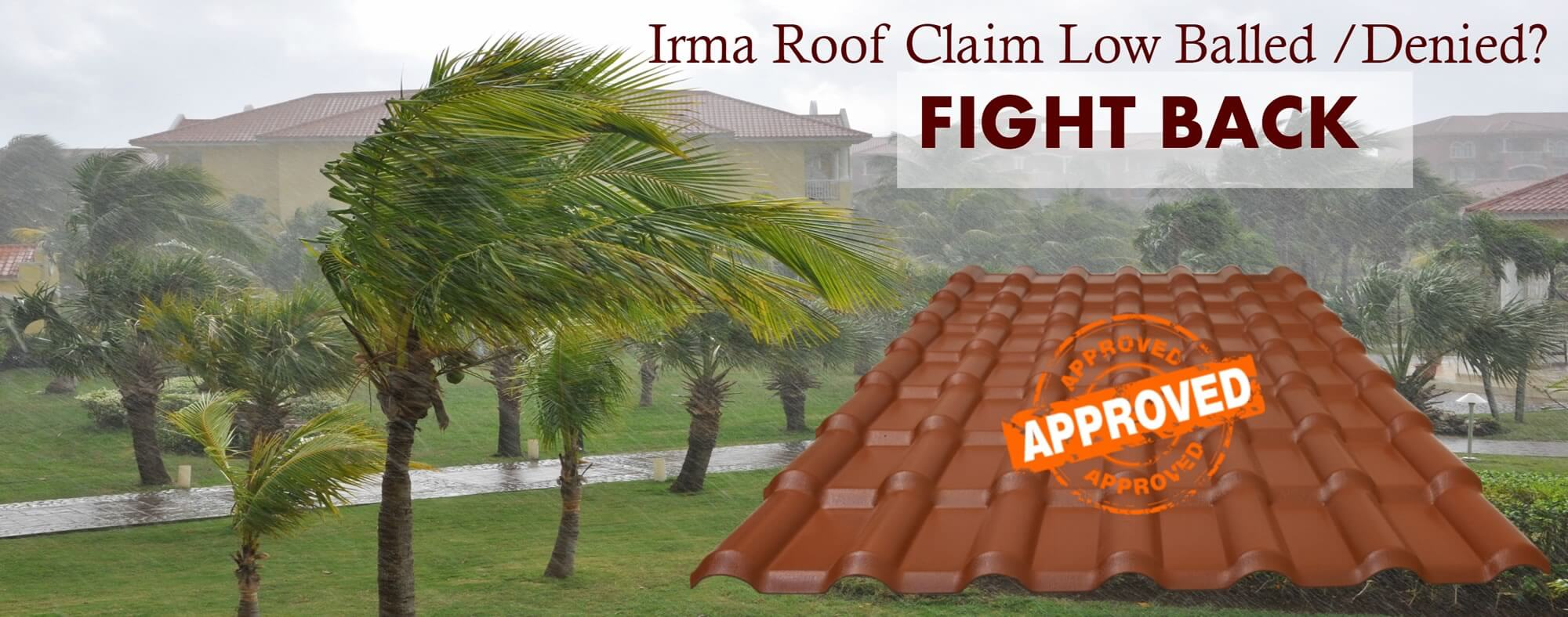Hurricane Irma Roof Insurance Claim